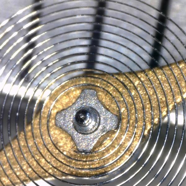 Verschweißung der Spirale auf der Spiralrolle