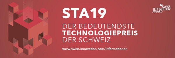 We are Swiss Technology Award 2019 finalists!